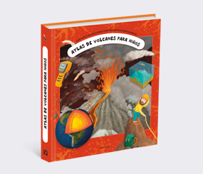 Atlas de volcanes para niños