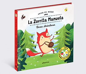 La zorrita Manuela busca arándanos